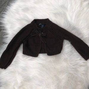 Girls baby gap sweater shrug